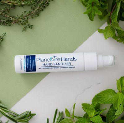 Aloe Vera PlaneAire Hands Hand Sanitizer