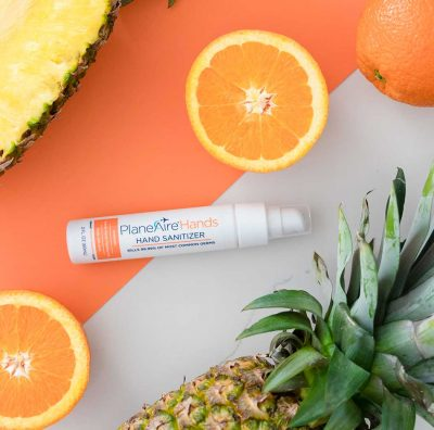 Natural Fruit Hand Sanitizing Gel