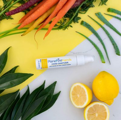 Lemon Carrot Hand Sanitizer