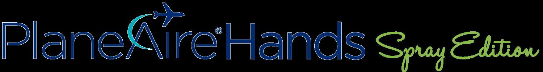 PlaneAire Hands Spray Logo