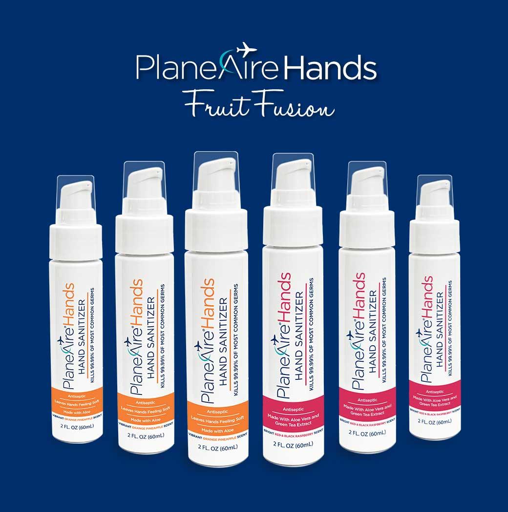 PlaneAire Hands Fruit Sanitizers