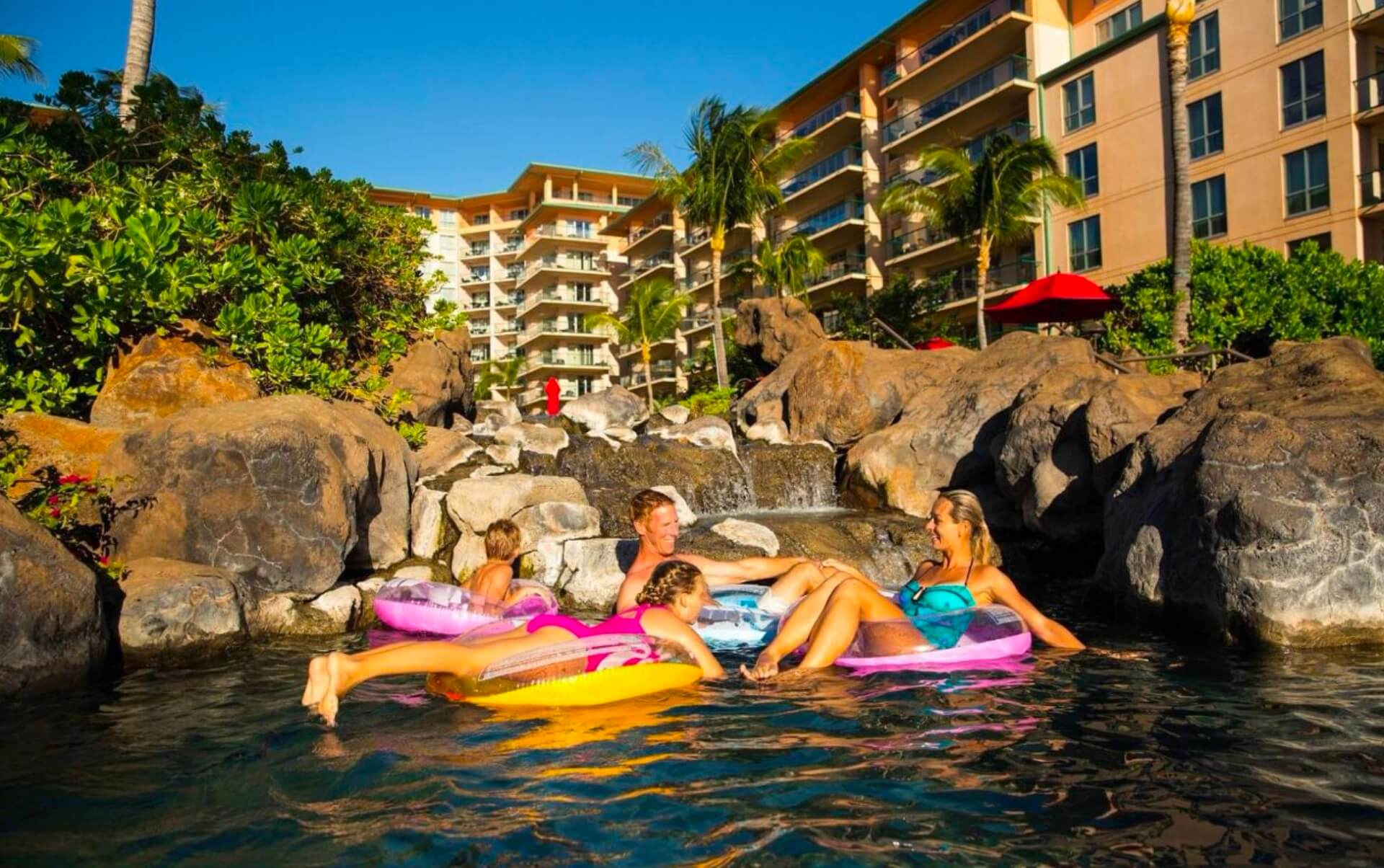 Hawaii resort family fun