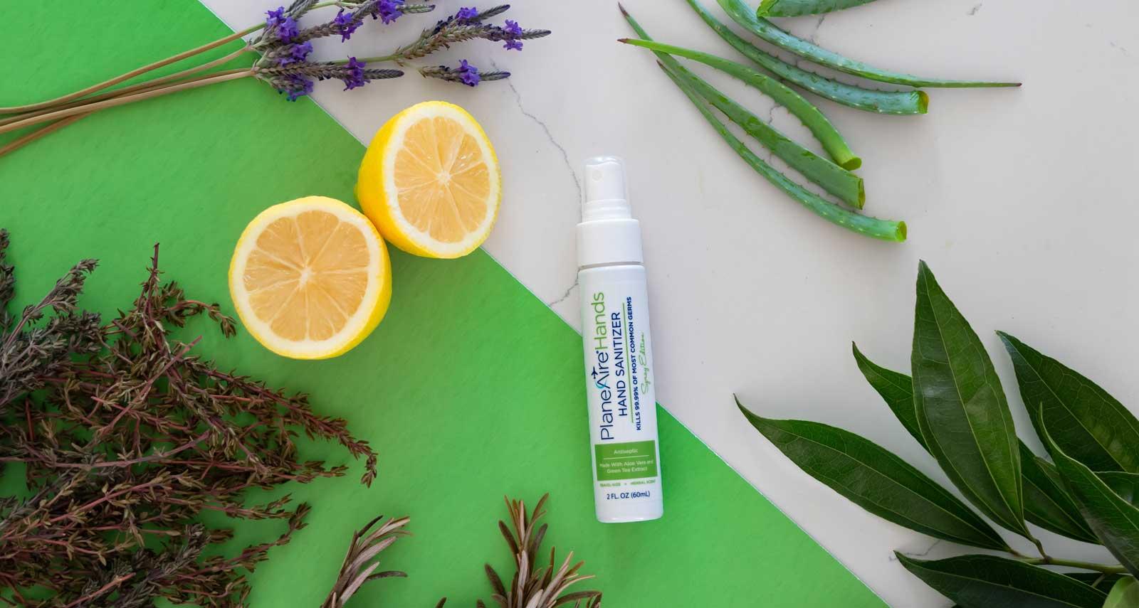 Travel Hand Sanitizer Spray