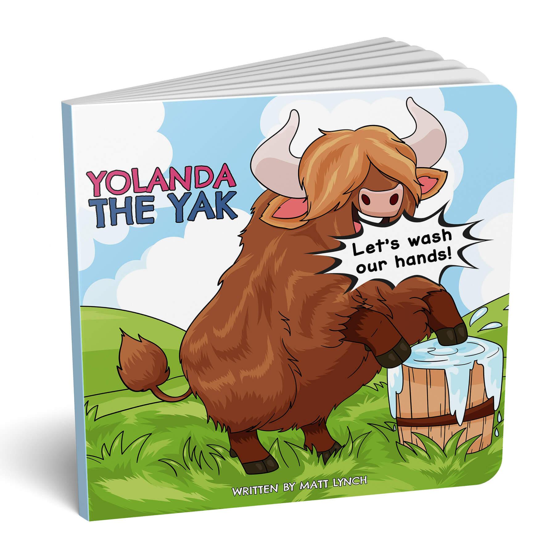 Yolanda The Yak Board Book