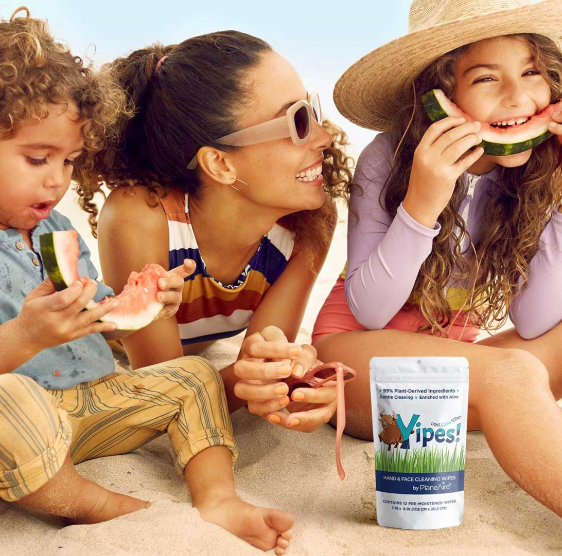 Yipes Hand and Face Cleaning Wipes for Kids